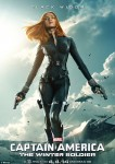 Captain America Winter Soldier review Black Widow poster