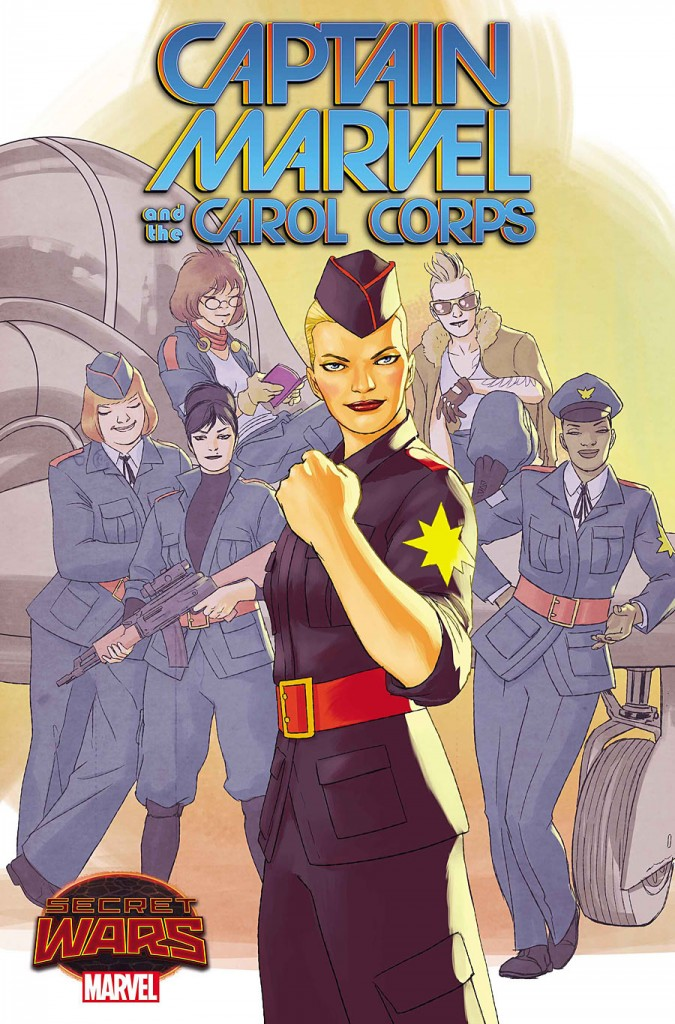Captain Marvel and the Carol Corps 1-3