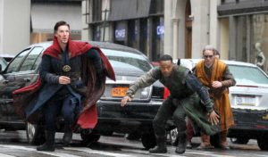 Doctor Strange movie review running