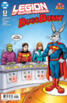 Legion of superheroes bugs bunny review cover